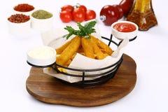 Сыр вставляет и смешанный француз жарит Стоковая Фотография RF