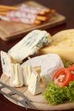 сыр доски стоковое изображение