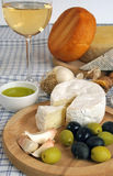 сыр завтрака Стоковая Фотография