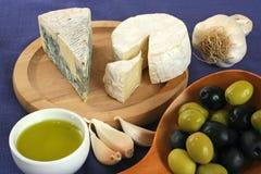 сыр завтрака Стоковые Изображения