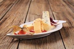 сыр закуски Стоковые Фотографии RF