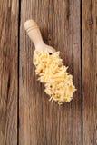 сыр заскрежетал стоковое фото rf