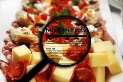 Сыр и мясо Стоковые Изображения RF