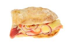 Сыр и провозглашанный тост ветчиной сэндвич стоковые фотографии rf