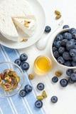 Сыр и ягоды стоковая фотография rf