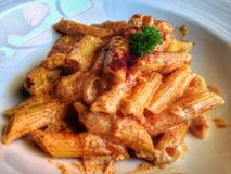 Сыр макарон Стоковое Фото
