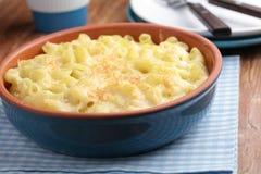 Сыр макарон стоковое фото rf