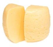 Сыр на белизне Стоковые Фотографии RF