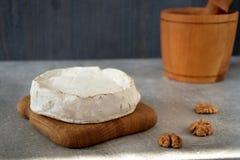 Сыр на таблице Стоковое Фото