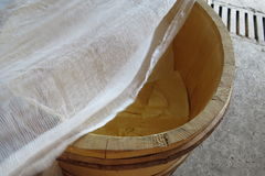 сыр домодельный Стоковая Фотография RF