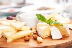 сыр печатает различное на машинке стоковое изображение
