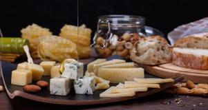 сыр различный Стоковая Фотография
