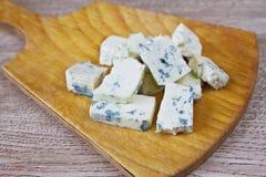 Сыр с голубой прессформой Стоковое Изображение RF