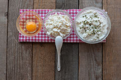 Сыр с яичком Стоковые Изображения RF