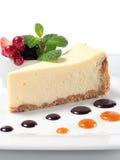 сыр торта ягод свежий Стоковое Изображение