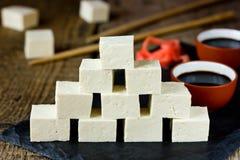 Сыр тофу Стоковое Изображение