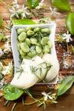 сыр фасолей Стоковая Фотография RF