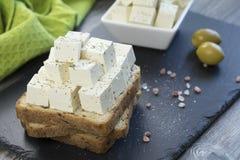 Сыр фета тофу Стоковое Изображение RF