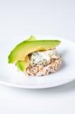 сыр хлеба авокадоа Стоковые Фото