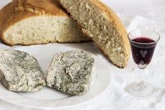 Сыр Cabrales Стоковое Изображение