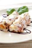 сыр cannellonis Стоковые Изображения RF