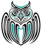 Сыч Haida иллюстрация вектора