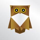 Сыч Origami Стоковое Изображение RF