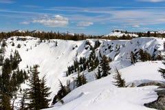 Сьерра на ares Калифорнии задней страны Tahoe больных Стоковое Изображение