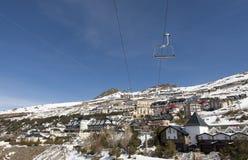 Сьерра Невада вверх по лыже Стоковые Фотографии RF