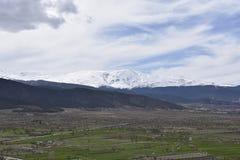 Сьерра-невада Marquesado del Zenete стоковые фотографии rf