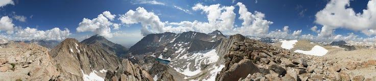 Сьерра панорамы горы Стоковые Фотографии RF
