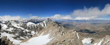 Сьерра панорамы Невады Стоковая Фотография RF