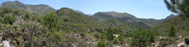 Сьерра de Almijara стоковое фото