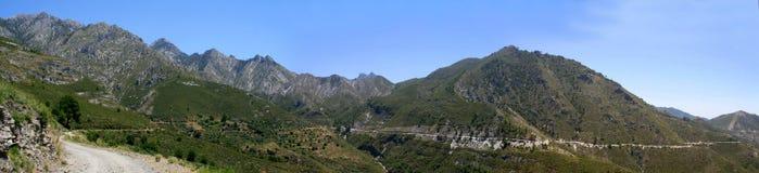 Сьерра de Almijara, Nerja стоковые изображения rf