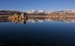 Сьерра tufas озера mono Стоковое Изображение RF