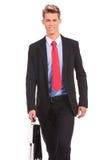 Сь гулять бизнесмена Стоковая Фотография RF
