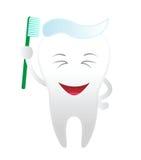 сь зуб Стоковое Изображение