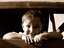 Сь мальчик Стоковое фото RF
