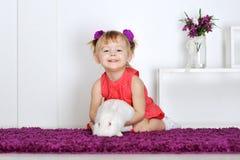 Сь маленькая девочка Стоковое Изображение RF