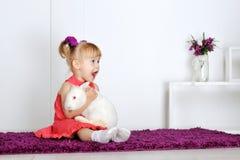 Сь маленькая девочка Стоковая Фотография RF