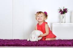 Сь маленькая девочка Стоковые Фотографии RF