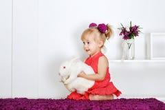 Сь маленькая девочка Стоковое Фото