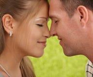Сь пары в влюбленности Стоковые Фотографии RF