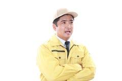 Сь работник стоковое изображение rf