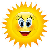 сь солнце иллюстрация штока
