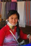 сь тайские tribeswoman детеныши Стоковое Фото