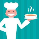 Шеф-повар иллюстрация вектора