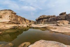 Сэм Phan Bok - гранд-каньон Таиланда Стоковое Фото
