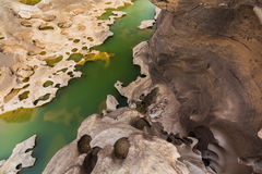 Сэм Phan Bok - гранд-каньон Таиланда Стоковое фото RF