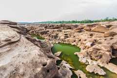 Сэм Phan Bok - гранд-каньон Таиланда Стоковая Фотография